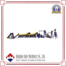 Línea de producción de reciclaje de plástico y máquina de granulación