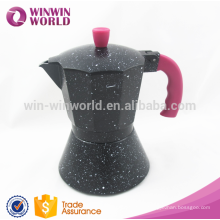 2016 New Products aluminumtop professional espresso coffee maker/antique coffee maker