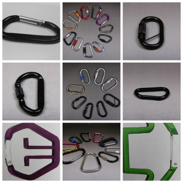Rock Leo Carabiner với Xoay Snap Hook