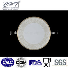 A023 Royal fine bone porcelain floral decorative salad plates
