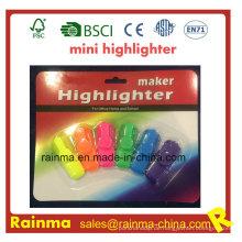 2016 heißer Verkauf Promorion Mini Textmarker mit benutzerdefinierten Logo