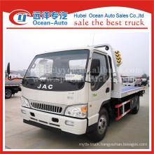 JAC 4X2 heavy duty truck 4TON road wrecker tow truck for sale