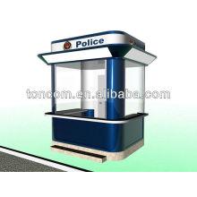 Conception et fabrication de la cabine de garde TGT-3