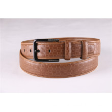 Fashion Men′s Leather Belt with Pin Buckle