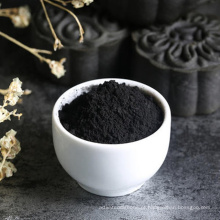 Carvão Ativado Preto com Pigmento Negro de Fumo