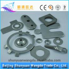 Estampagem de precisão de chapa metálica e peças metálicas de estampagem