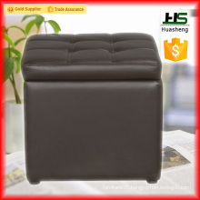 Low price folding storage inflatable ottoman