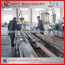 Wpc decking fazendo máquina wpc máquina