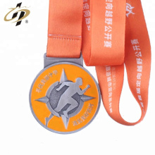 Design your own culb metal enamel round sport theme medals