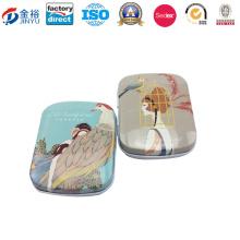 Custom Small Sized Metal Mint Packaging Box