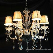 Italian Blown Glass Chandelier Lamps