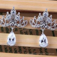 Fashion Imitation Allergy Drops Zircon Earring Jewelry