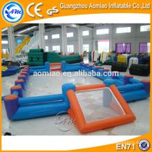 Juegos de deportes inflable producto cancha de voleibol inflable, campos de voleibol inflables