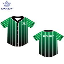 Custom cheap mesh baseball jersey