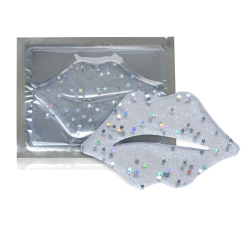 Glitter Lip Patch Gel Mask Sheets Kollagen