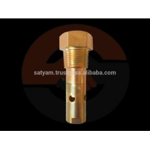 One-piece brass body In-line check valve
