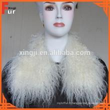 Long collier de fourrure de marque de Xingji de cheveux