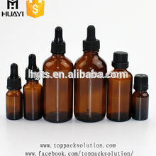 5 ml 10 ml 15 ml 20 ml 30 ml 50 ml 100 ml niño a prueba de agua cuentagotas plástico de aluminio gorro de aceite esencial botella de vidrio
