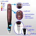 Máquina de maquillaje permanente digital de alta calidad 2 tatuaje arma tatuaje fuente de alimentación