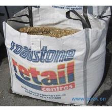 Bolsa grande para fertilizante químico con solapa