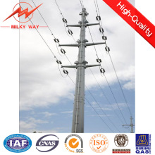 Single Circuit Distribution Power Poles for Electrical Power Line