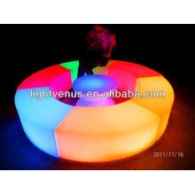 Banco de LED seccional torcido