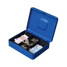Professional Manufacture 3 Digital Number Combination Lock Square Safety Cashier Metal Cash Box 12 Inch