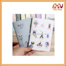 original cute square cartoon notebook