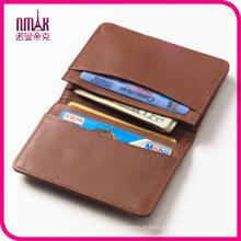 High End Leather Bifold Credit Card Holder Front Pocket Wallet Pouch Cash Organizer