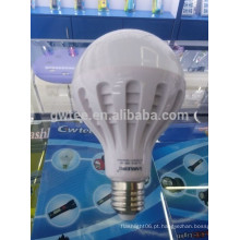 Super brilho 15w levou lâmpadas de emergência e27 suporte da lâmpada