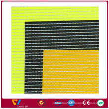 high light brighter reflective thread yarn woven textile fabric for work shoes