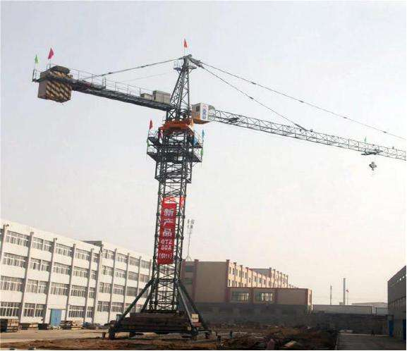 Fixed Flat Top Erect Tower Crane