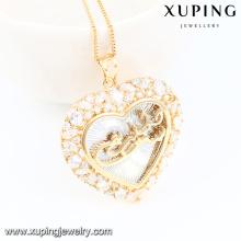 32684-Xuping colgante chapado en oro de la manera de la joyería de moda