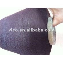 fil polyester filé