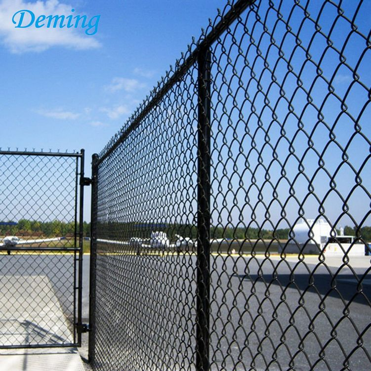 Chain Link Fence Sports Field