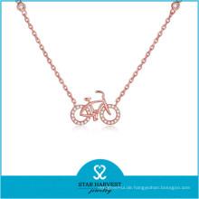2015 SGS zertifiziert Heiß-Verkauf Silber Schmuck Halskette (N-0324)