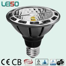 LED PAR30 con tamaño totalmente estándar y forma halógena