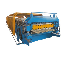 double layer metal tile roll forming machine