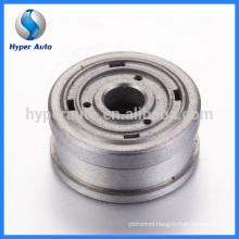 Piston base valve sinter part for adjustable shock absorber