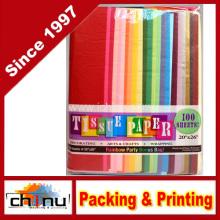Papel sortido de tecido cor de arco-íris (510040)