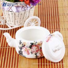 Einzelne chinesische ziemlich rote Teekannen asiatische keramische billige Teekannen zum Verkauf online