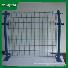 China supplier welded wire mesh fence panels in 6 gauge
