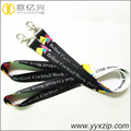 Metallhaken benutzerdefinierte bunte Mode Sublimation Lanyard