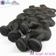 Ein Spender Unverarbeitete große Aktien natürliche Farbe Vigin brasilianisches Haar