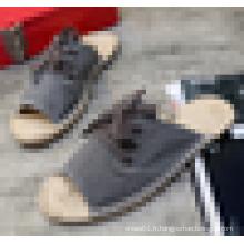 Grossiste Mens Jute Sole Espadrilles Sandals 2016 Summer Espadrille Shoes