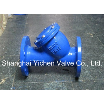 Cast Iron / Ductile Iron API Flanged End Y - Type Strainer (GL41)