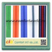 Высокое качество мода молнии двухсторонняя металлическая застежка-молния