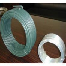 Fil galvanisé de 0,6 mm 0,5kg Fil noir recouvert de petite bobine