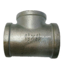 No. 130r Reducing Banded Galvanized Tee Malleable Iron Pipe Fittings