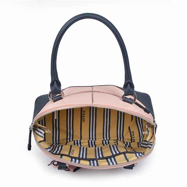 plain leather shopping shell bag lady hand bag women tote bag with shoulder strap